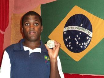 Baiano, Jefinho é o melhor jogador do mundo de futebol de cego na atualidade - Foto: Agecom | Divulgação