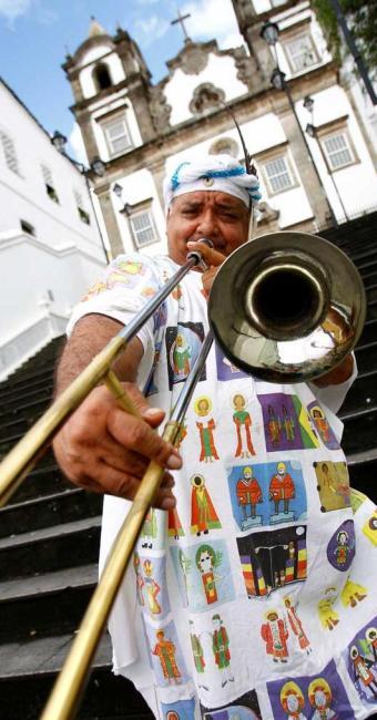 Gerônimo fez o jingle ACM meu amor com Vevé Calazans - Foto: Fernando Vivas | Ag. A TARDE