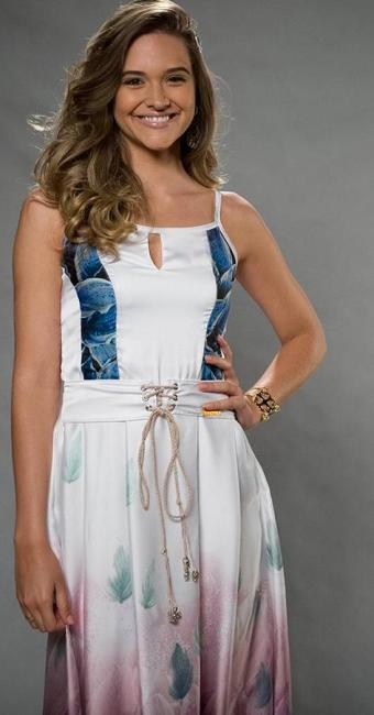 Juliana Paiva encara, aos 20 anos, o primeiro papel de protagonista de sua carreira - Foto: Estevam Avellar | TV Globo