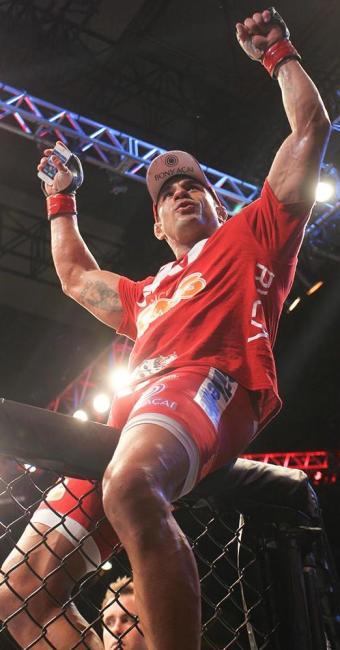 Vitor Belfort, lutador de UFC - Foto: Joel Rodrigues | Frame | Folhapress