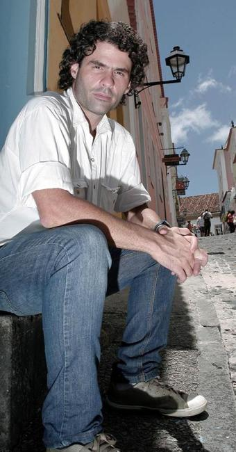 O cineasta João Rodrigo Mattos no Centro Histórico de Salvador - Foto: Marco Aurélio Martins | Ag. A TARDE