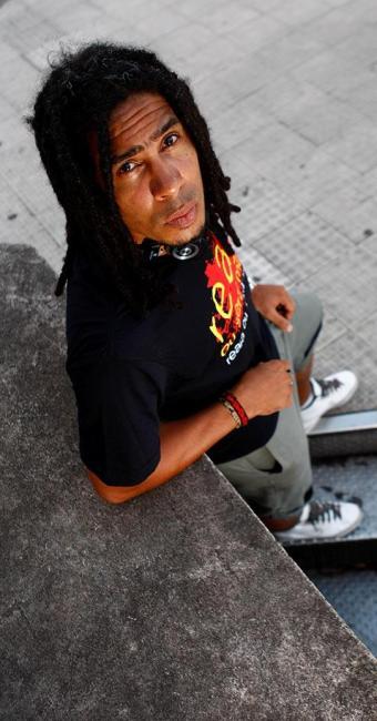 Fábio Lira, 33, procurou a delegacia, mas os policiais se recusaram a tipificar o crime como racismo - Foto: Fernando Vivas | Ag. A TARDE