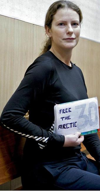 Ana Paula Maciel antes da liberdade na Rússia - Foto: Igor Podgorny | Ag. A TARDE