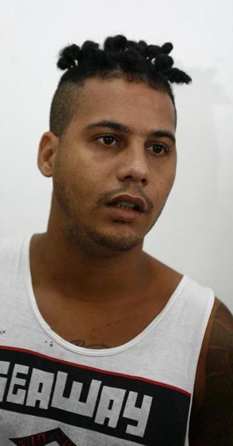 Leonardo Santos Santana foi preso na casa da mãe - Foto: Luciano da Matta   Ag. A TARDE