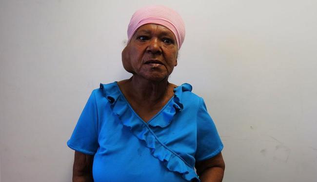 Dona Valdelice sofre de mal de Parkinson e também sofre de problemas mentais - Foto: Ascom | Polícia Civil