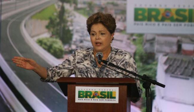 Presidente Dilma lembrou o Dia de Todos os Santos no discurso - Foto: Lúcio Távora | Ag. A TARDE
