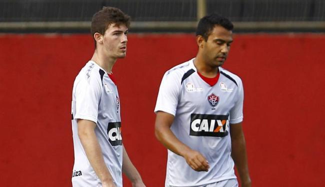 Dupla ainda não atuou junta, mas segue como titular na defesa do Leão - Foto: Eduardo Martins | Ag. A TARDE