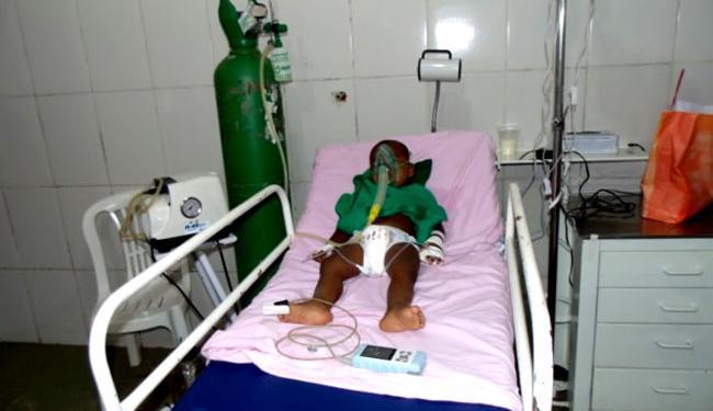 Criança sofreu uma parada cardíaca, mas passa bem - Foto: Clérison Oliveira | Giro de Notícias