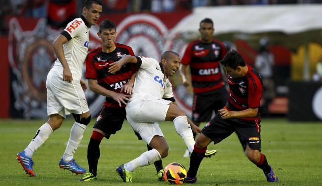 Resultado com o Corinthians fez chances de classificação caírem de 18% para 10% - Foto: Eduardo Martins | Ag. A TARDE