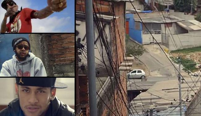 Rapper lança clipe com Neymar e Emicida - Foto: Reprodução