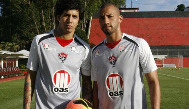 Victor Ramos e Kadu cumpriram suspensão contra o Corinthians - Foto: Margarida Neide / Ag. A TARDE