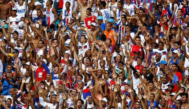 Apesar da boa presença de torcedores, Bahia fica fora do G-4 na média de público - Foto: Eduardo Martins | Ag. A TARDE