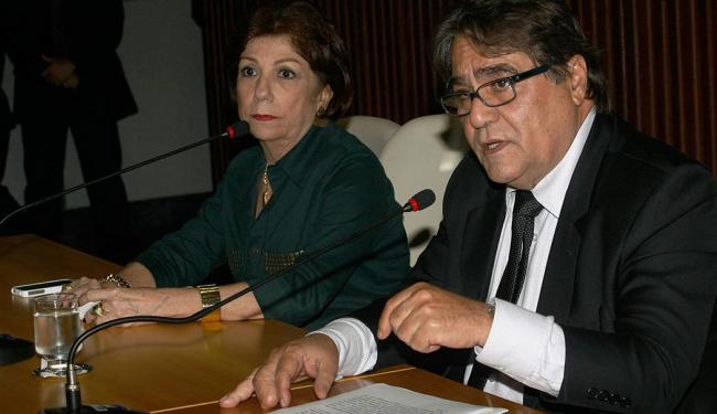 Telma Laura Silva Britto e Mário Alberto Simões Hirs foram afastados - Foto: Margarida Neide | Ag. A TARDE