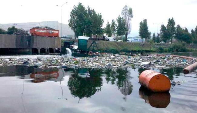 Rio na Argentina está na lista dos lugares mais poluídos do mundo - Foto: Reprodução