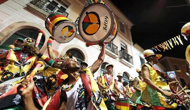 Olodum será uma das atrações do sorteio, na Costa do Sauípe - Foto: Raul Spinassé | Ag. A TARDE