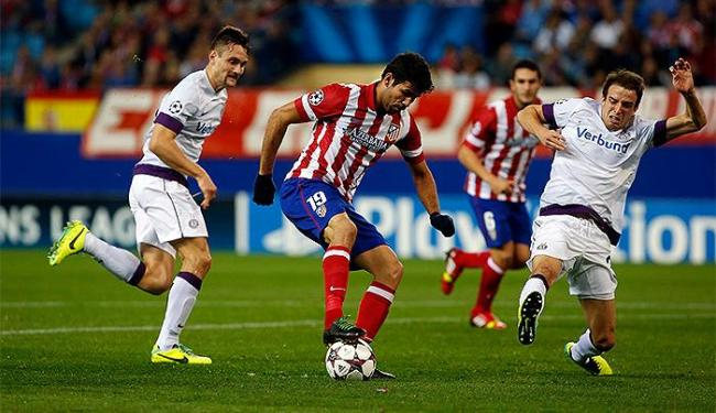 Diego Costa volta a ser protagonista em vitória do time espanhol - Foto: Susana Vera l Reuters