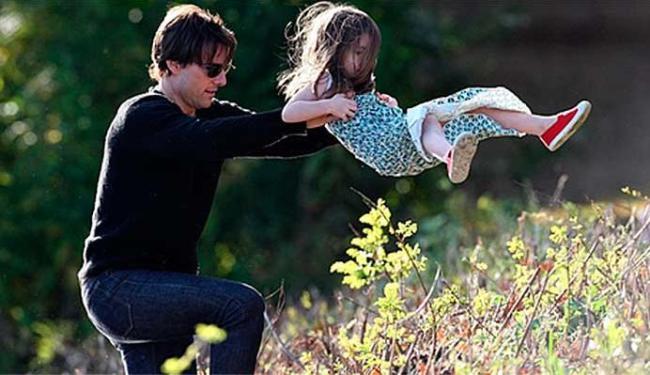 Tom Cruise admite que tem visto a filha com menos frequência - Foto: Reprodução   Celebuzz