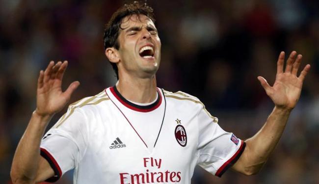 Felipão disse a um jornal italiano que está de olho nas atuações de Kaká no Milan - Foto: Albert Gea   Agência Reuters