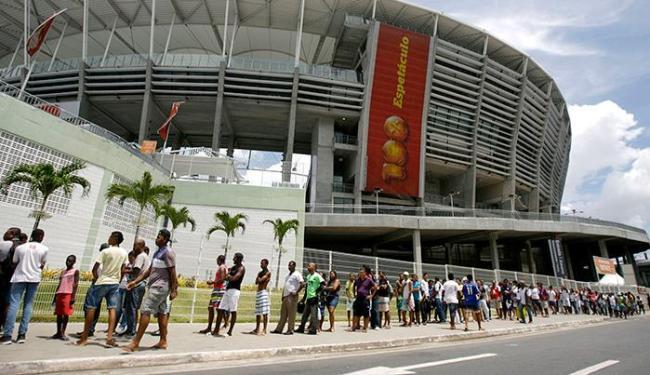 Ainda restam bilhetes a partir de R$ 35 (meia) - Foto: Raul Spinassé