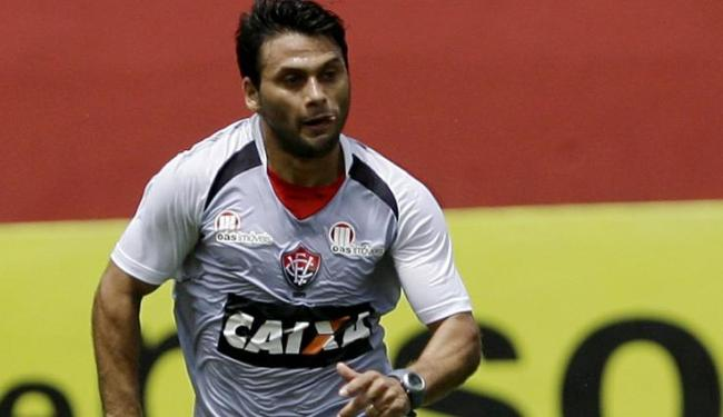 Maxi, que não joga há 53 dias, vai ficar no banco domingo contra a Ponte em Campinas - Foto: Marco Aurélio Martins | Ag. A Tarde