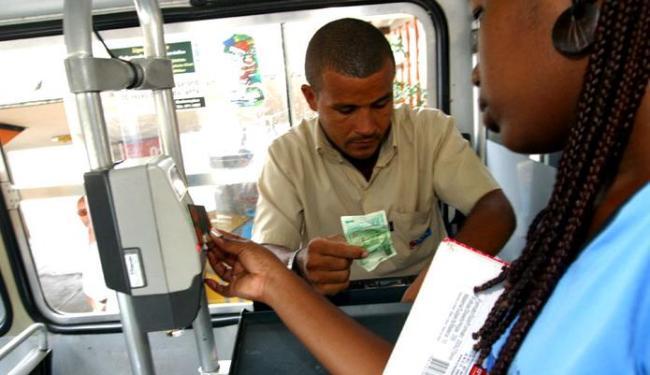 Uso do smart card será substituído pela identificação biométrica - Foto: Arestides-Baptista   Ag. A TARDE