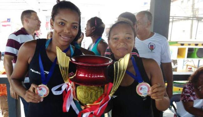 Dupla conquistou o 12º título consecutivo do Vitória e quebrou marca de mais de 60 anos - Foto: Esporte Clube Vitória | Divulgação