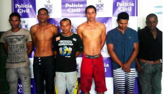 Presos estão custodiados na carceragem da DT/Senhor do Bonfim - Foto: Divulgação   Polícia Civil
