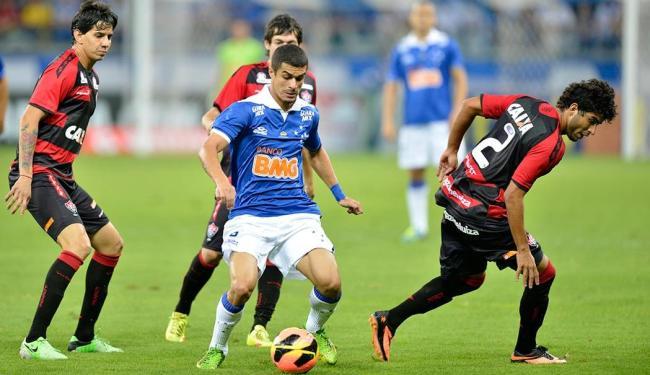 Cruzeiro bateu o Vitória por 5 a 1 no primeiro turno, mas Leão tem 4ª melhor campanha como mandante - Foto: Juliana Flister   VIPCOMM