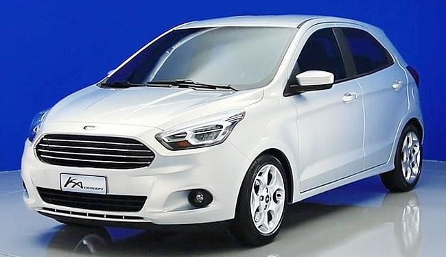Novo Ka Concept será lançado hoje na Ford Camaçari - Foto: Divulgação