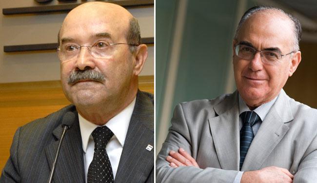 Carlos Farias e José de Freitas Mascarenhas disputam o comando da Federação das Indústrias do Estado - Foto: Fotos: Divulgação