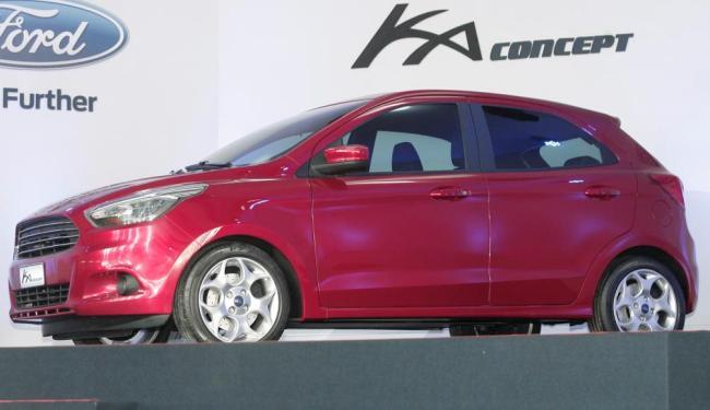 O maior concorrente do novo Ka, porém, ainda será lançado: o VW Up!, esperado para 2014 - Foto: Marco Aurélio Martins   Ag. A TARDE