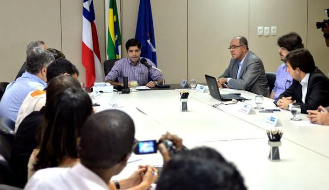 Projeto foi apresentado pelo prefeito ACM Neto e pelo secretário José Carlos Aleluia - Foto: Max Haack   AGECOM