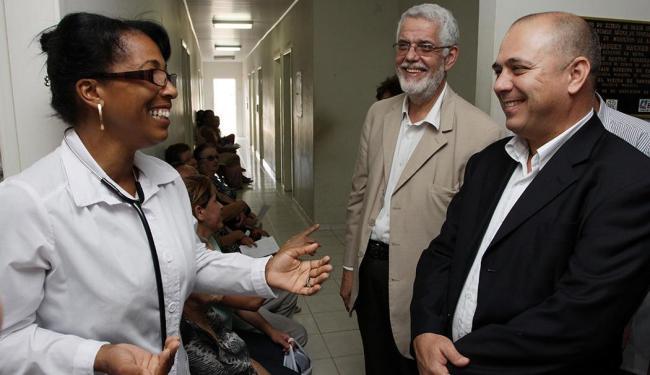 Ministro visitou quatro unidades do Programa Saúde da Família na Bahia - Foto: Leonardo Rattes | Ascom Sesab