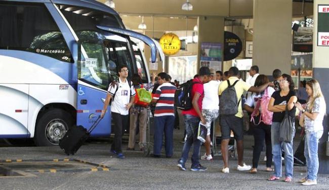 Cerca de 45 mil passageiros deverão embarcar no feriado - Foto: Adilton Venegeroles / Ag. A TARDE