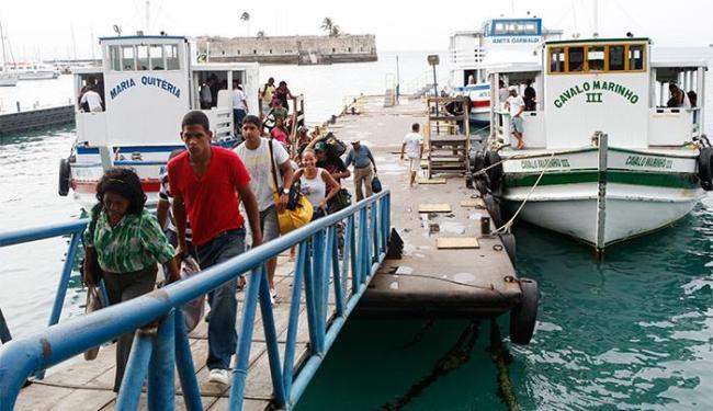 Usuário que se sentir lesado pode reclamar junto à administração do Terminal Náutico da Bahia - Foto: Margarida Neide / AG. A TARDE