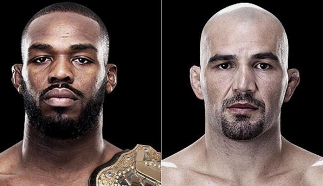 Brasileiro (à esquerda) tentará tomar o cinturão do norte-americano - Foto: Reprodução l UFC