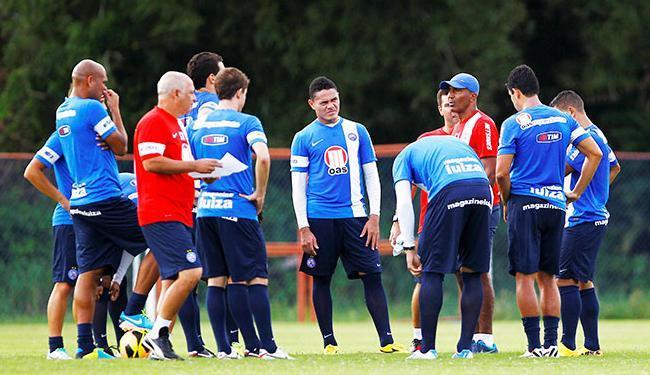 Última vitória do time do técnico Cristóvão Borges foi no clássico Ba-Vi, há cinco semanas - Foto: Eduardo Martins | Ag. A Tarde