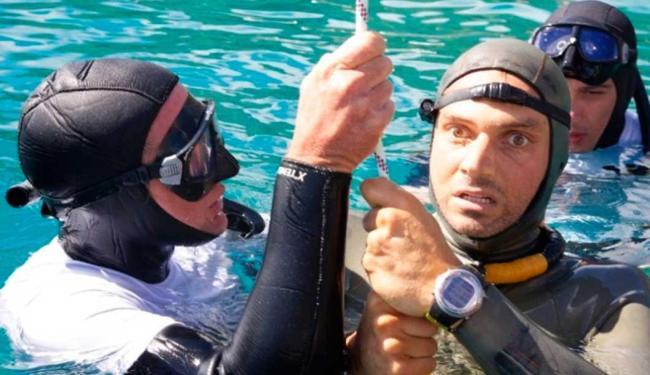 Nicholas Mevoli morreu ao retornar de mergulho de 72 metros sem oxigênio - Foto: Reprodução | The New York Times