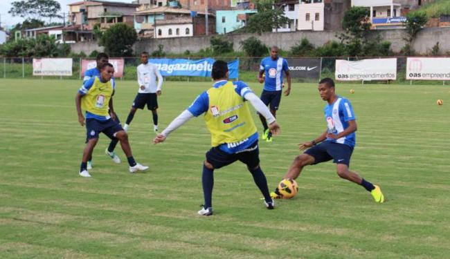 Elenco trabalhou parte física na academia e posse de bola em campo - Foto: Esporte Clube Bahia   Divulgação