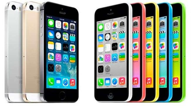 O 5S é o top de linha da Apple, já o 5C é o
