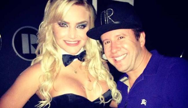 Rei do Camarote foi à festa da revista Playboy - Foto: Reprodução | Instagram