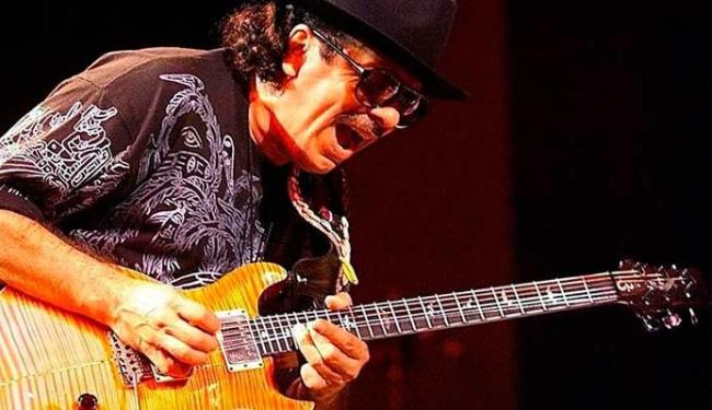 Carlos Santana vai tocar para convidados como Samuel Rosa, do Skank - Foto: Divulgação