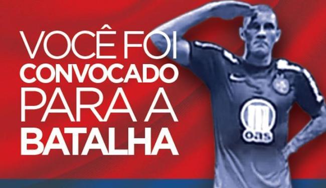 Campanha quer mobilizar torcedores para superar público de 32.683 pagantes contra o Galo - Foto: Reprodução | E.C.Bahia