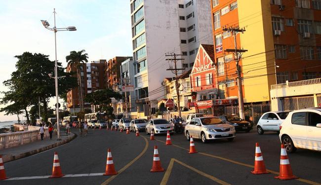 Primeira mudança no trânsito da Barra aconteceu em setembro - Foto: Margarida Neide   Ag. A TARDE