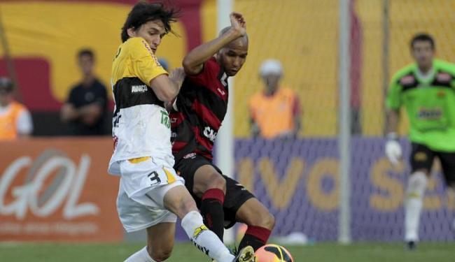 Vitória quer se vingar da derrrota sofrida em casa no 1º turno por 1 a 0 para o Criciúma - Foto: Eduardo Martins | Ag. A Tarde