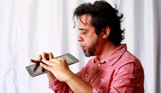 Gilberto Monte participa de uma videoconferência sobre economia criativa - Foto: Fernando Vivas | Ag. A TARDE