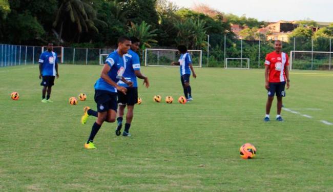 Elenco se reapresenta na manhã deste sábado, 23, para último treino antes do confronto decisivo - Foto: Esporte Clube Bahia | Divulgação