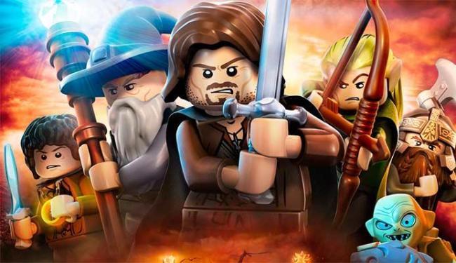 O Senhor dos Anéis já foi adaptado para a versão Lego nos games - Foto: Divulgação