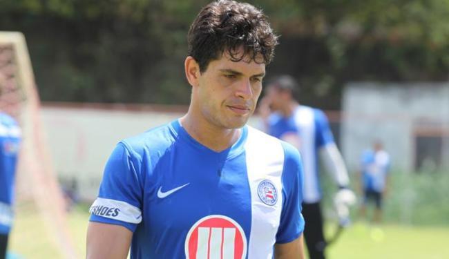 Com expulsão de Feijão, Fahel deve voltar ao time titular contra o Cruzeiro - Foto: Edilson Lima/ Ag. A TARDE