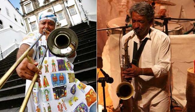 Gerônimo e Letieres Leite tiveram projetos contemplados pelo Natura Musical - Foto: Fernando Vivas | Ag. A TARDE - Divulgação
